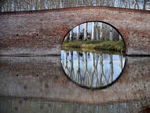 Le médaillon du Canal du Midi